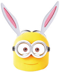 free easter minion bunny mask printable inkntoneruk blog