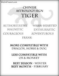21 best year of the tiger images on astrology