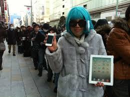 apple japan australia japan singapore begin selling the new ipad