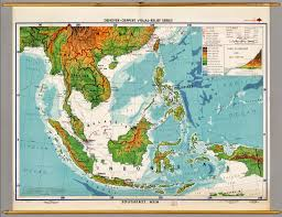 Printable Map Of Asia Physical Map Of Southeast Asia And Oceania You Can See A Map Of