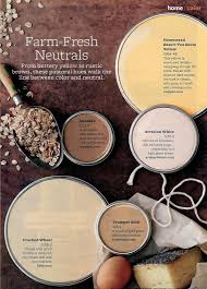 paint color palette u2013 farm fresh neuatral from buttery yellow to