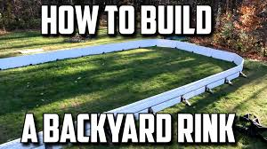 Backyard Hockey Download How To Build A Backyard Rink Youtube