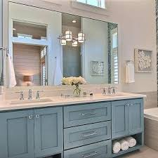 Shaker Bathroom Vanity Cabinets by Blue Shaker Bathroom Cabinets Design Ideas