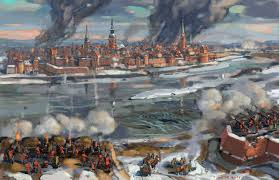 siege of the siege of riga 1711 by bat on deviantart