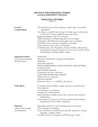 Job Resume With Experience by Sample Paralegal Resume Berathen Com