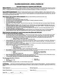 medical informed consent form templates fillable u0026 printable