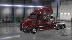 volvo american truck volvo vnl 670 big mama tattoo skins american truck simulator mod