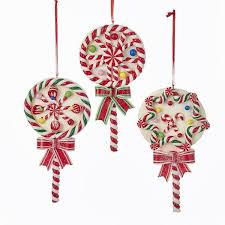 lollipop ornaments claydough lollipops ornament