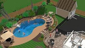 Backyard Ideas On A Budget Patios Pool And Patio Decorating Ideas On A Budget Inground Swimming