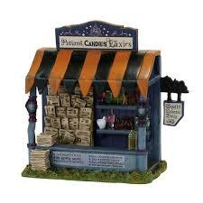 department 56 halloween village spells u0026 potions kiosk accessory