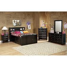 Full Bookcase Laguna Full Bookcase Bed In Black Cherry Nebraska Furniture Mart