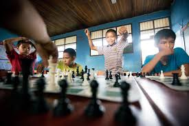 the shaman sees checkmate teaching chess in the amazon us chess