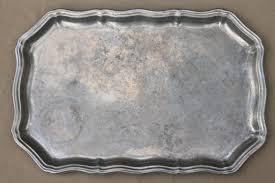 pewter platter vintage gadroon rwp pewter wilton armetale rectangular