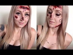 plastic surgery victim halloween tutorial