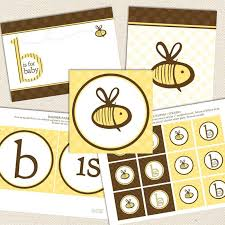neutral baby shower decorations bee gender neutral printable baby shower decorations lil sprout