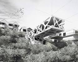 The Origami Inspired Folding Bamboo House Inhabitat Sustainable Design Innovation Eco - 17 best arquitetura têxtil fachadas em foco images on pinterest