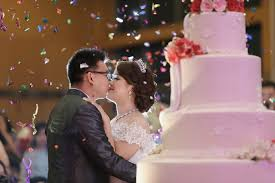 wedding cake kelapa gading wedding day of christine and yonathan by leonard pictures