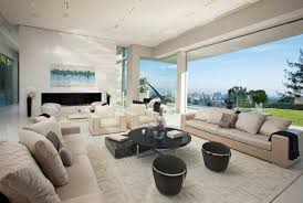 large modern home with lovely city views bel air los angeles