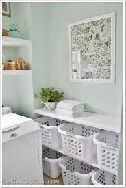Laundry Room Shelving by Best 25 Laundry Folding Station Ideas On Pinterest Laundry