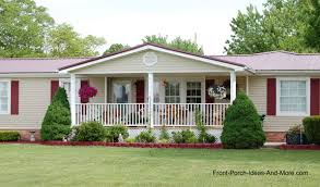 Ranch Floor Plans With Front Porch Porch Designs For Mobile Homes Porch Designs Front Porches And