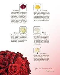 passion growers u0027 rose color guide helps find the perfect rose