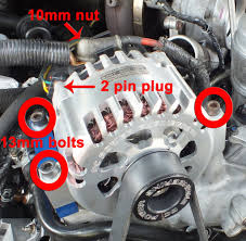 ford f150 f250 replace your alternator how to ford trucks