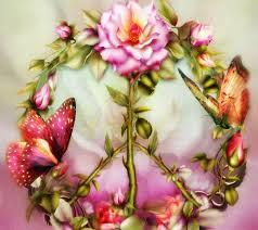 flowers butterflies nature buds petals blooms flowers paintings