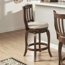 Bar Stool With Cushion Furniture Swivel Bar Stools With Backs For Exciting Kitchen
