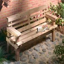 Free Wood Glider Bench Plans by Wood Plans