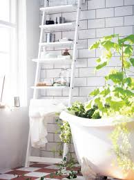 bathroom towel ladder wood light fixtures for bathrooms over