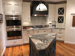white kitchen cabinets with blue island new hshire custom white shaker inset cabinetry kitchen blue island wood quartzite counter countertop 20000 retail green kitchens