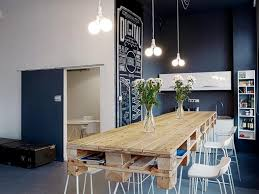 kitchen charming white loft office kitchen ideas with black