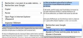 comment mettre des post it sur le bureau windows 7 astuce créer un post it à partir d une sélection sur os x