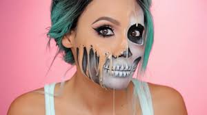 melted face makeup is taking over this halloween allure