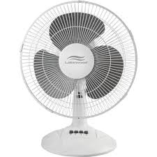 Oscillating Desk Fan by Lakewood 12 Inch Three Speed Oscillating Desk Fan Metal Plastic