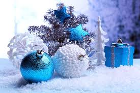 Christmas Tree With Blue Decorations - inspiration for your christmas tree decorating fresh by ftd