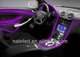 Neon Lights In Cars Interior Car Decorative El Wire El Wire Neon Glow Light Flexible El