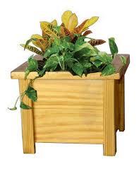 caballo rustic planter box greenmylife anyone can garden