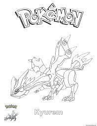 pokemon coloring pages white kyurem kyurem pokemon coloring pages printable