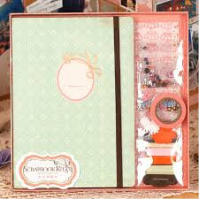 handmade scrapbook albums aliexpress buy vintage diy creative paper scrapbook kit