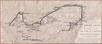 Springfield Illinois Map by Lincoln Map A Historic Journey National Geographic Magazine