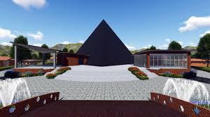 meditation center architectural design youtube