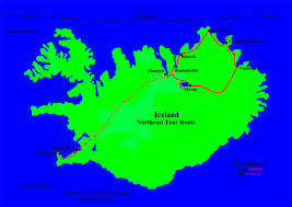 Northeast Map Kaiyote Tours Iceland Birding Adventures Trips U0026 Travel Packages