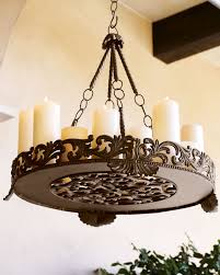 Home Decor Candles Interior Vintage Hanging Candles Holder From Metal Material For