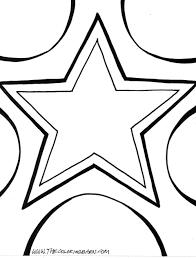 star coloring pages getcoloringpages com