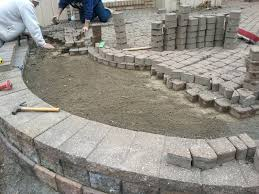 Slope For Paver Patio by Patio Ideas Building A Patio Around A Tree Hdblogsquad How To