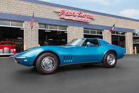 vintage corvette blue inventory fast lane classic cars fast lane classic cars