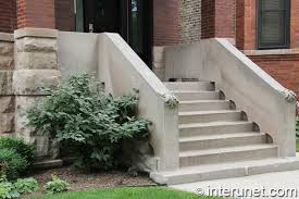 concrete stairs and front porch interunet