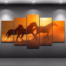 Horse Decor For Home by Popular Canvas Horse Paintings Buy Cheap Canvas Horse Paintings