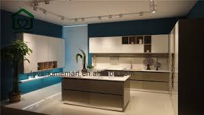 dark light brown lacquer kitchen cabinets cheap price on sale